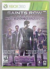 Saints Row the Third 3rd Full Package Microsoft Xbox 360 (5057-SM20)