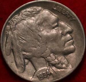1934-D  Denver Mint Buffalo Nickel