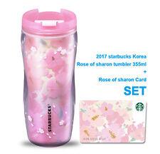 Starbucks Korea 2017 Rose of sharon tumbler 355ml + sharon Card SET