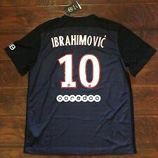 2015/16 PSG Home Jersey #10 Ibrahimovic XL Nike Football Soccer Sweden