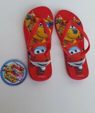 SUPER WINGS TONGS POINTURE EU34/35 - UK2/3 ROUGE