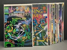 LAST OF THE VIKING HEROES #1-12 & SPECIAL #1-3 SET Teenage Mutant Ninja Turtles