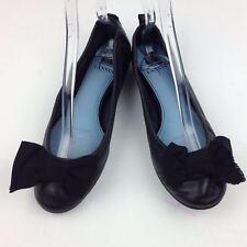 LANVIN Bow Ballerina Leather Flat sz 39