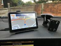 """SAT NAV SATNAV CAR GPS NAVIGATION GO SYSTEM START MEDIA PLAYER TOM 4.3"""" INCH NEW"""