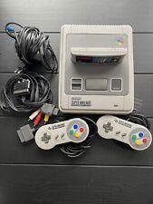 Super Nintendo Entertainment System SNES Inkl. 2 Controller & Super Mario World