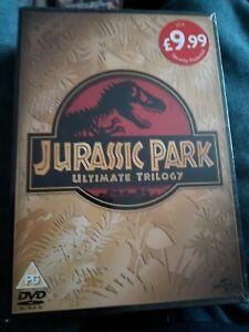 Jurassic Park Trilogy [DVD] [2015] - new
