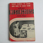 Vint 1940 Westinghouse Electric Range Manual Cookbook Instructions Recipes Menus photo