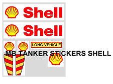 MATCHBOX SUPERKINGS TANKER STICKER SET SHELL
