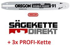 3 Sägeketten +1 x OREGON Schiene 40 cm zu McCulloch CS 390 CS 390+