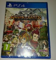 Aegis of Earth: Protonovus Assault PS4 New Sealed UK PAL Sony PlayStation 4 RPG