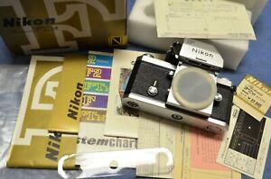 AMAZING FIND! c. 1973 Vintage, chrome/blk Nikon F FTn Apollo mint unused in box