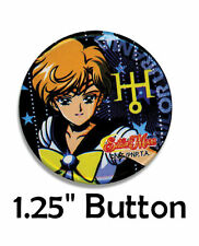 "Sailor Moon S Scout Uranus Haruka Tenou Outer Senshi Small 1.25"" Pinback Button"