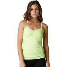 $36 Fox Racing Women's Hello! Cami In Day Glo Green Size XS/S