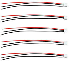 "Apex RC Products JST-XH 2S Balance Plug W/ 6"" / 150mm Wire Lead - 5 Pack #1080"