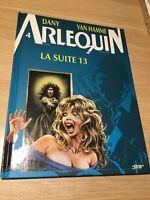 Arlequin, La Suite 13, French Comic Hardcover Book, Dany, Van Hamme