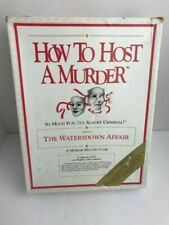 Vintage How to Host a Murder The Watersdown Affair Dinner Party Game for 8