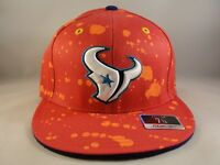 Houston Texans NFL Reebok Fitted Cap Hat Size 7 1/4 Pink