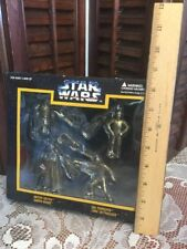 Star Wars Die Cast Metal Box Of Four Key Chain Figures