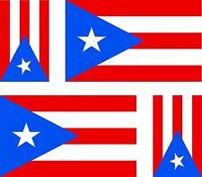 4x Aufkleber Auto Sticker tuning motorrad Autoaufkleber Fahne Flagge puerto rico