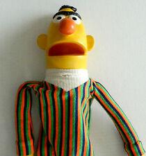Vintage Puppet 1970 Bert Burt Sesame Street Hand Jim Hensen AS IS rubber cloth