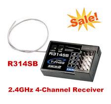 R314SB FHSS 4 Channel 2.4GHz Receiver for Futaba 4PX 4PXR 4PLS T3PV RC Car Parts