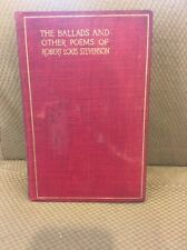 The Ballads And Other Poems Of Robert Louis Stevenson Vol 16 Hardcover 1899