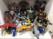Power Rangers Huge Lot of Megazords and Others Plus parts