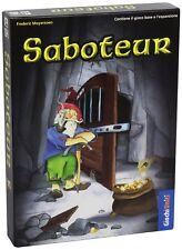 BdM - Saboteur Nuova Edizione - Gioco Base + Espansione in Italiano - Party Game