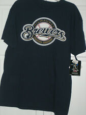 Milwaukee Brewers T-Shirt, Blue, MORGAN 2, Large, NWT