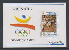 Grenada - 1990, Olympic Games, Barcelona (1992) sheet - MNH - SG MS2145b