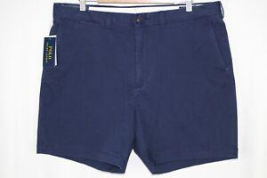 "Polo Ralph Lauren Men's Classic Fit 6"" Stretch Shorts Size 34 Navy Blue"
