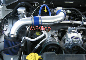 Blue For 2003-2010 Dodge Dakota 4.7L V8 Air Intake System Kit + Filter