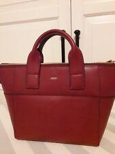 Handtasche Joop! Leder wie neu, Bordeaux 🌟keine Gebrauchsspuren 🌟