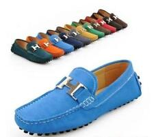 Hot Sale Men's Nubuck Cow Leather Slip On Driving Moccasin Loafer Shoes New T568