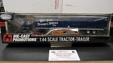 DCP #30761 West Bend Transit IH 9200 semi day cab truck dry van trailer 1:64/