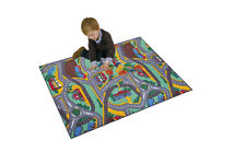 "Paradiso Toys Kids Carpet Playmat Rug City, 37.43""x78.80"" PT02912"