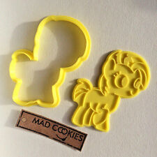 Babs Seed Cookie Cutter My Little Pony fondant mold 3d printed cookiecutter