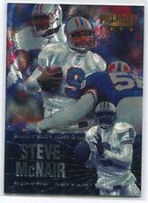 1996 Pinnacle Black 'N Blue 17 Steve McNair