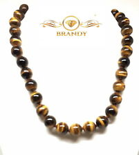 Brandy® Tigers Eye Beautiful Elegant Designed Strand Necklace 200 Ct