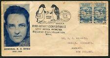 USA - 1935 BYRD ANTARCTIC EXPECTATION II  Cover + PENGUIN Cachet  GU [B4063]