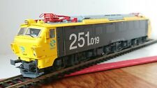 Electrotren E2596 Electric Locomotive RENFE 251.019 Yellow & Grey Period V