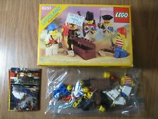 LEGO Pirates 6251 Pirate Mini Figures 100% Complete w/ Box & Buying Guide