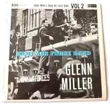 Glenn Miller-Banda de la Fuerza Aérea del Ejército volumen 2 Uk Vinilo Lp