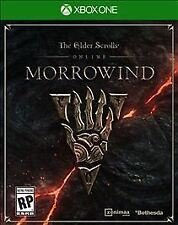 Elder Scrolls Online: Morrowind (Microsoft Xbox One, 2017) Brand New and Sealed