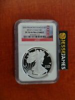 2012 S PROOF SILVER EAGLE NGC PF70 ULTRA CAMEO BRIDGE FROM SAN FRANCISCO SET