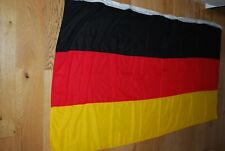 More details for very large german cloth flag 220cm x 108cm in very good condition