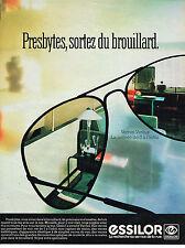 PUBLICITE ADVERTISING 025  1984  ESSILOR 2   lunettes verres varilux