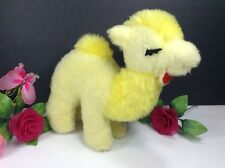"Rare Vintage Skyline International Plush Yellow Camel 10"" Stuffed Animal Toy"