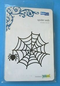 QuicKutz SPIDER WEB DIE Halloween 4 x 4