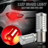 2x Bombillas 1157 LED Freno/Posicion  Canbus 380 BAY15D P21W / 5W rojo 6000K